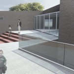 camignone youth center render