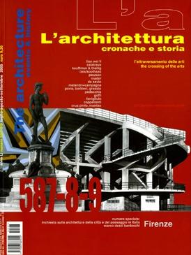 L'architettura cronache e storia